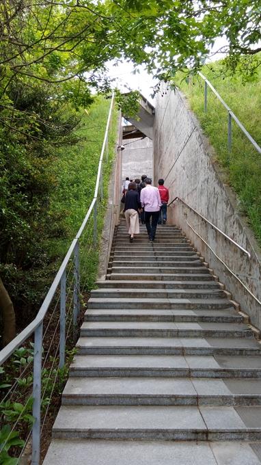 亀老山展望台 入口