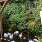 2018年夏!人気の流しそうめん、東温市の上林水の元(かみはやしみずのもと)に風穴も