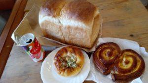 食パン雲珠の山